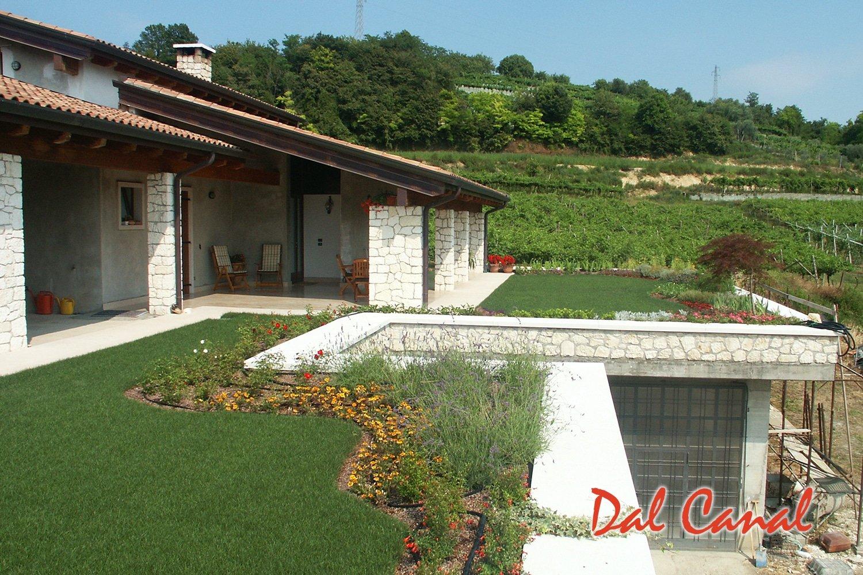 Giardini pensili dal canal srl impermeabilizzazioni a for Realizzazione giardini pensili
