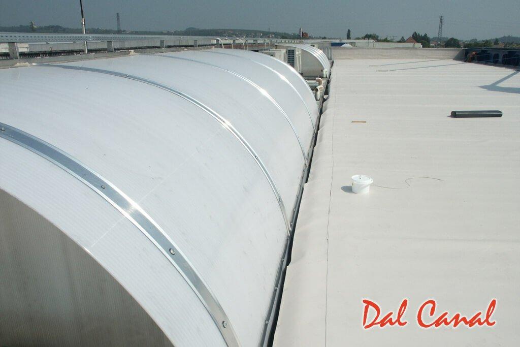 Impermeabilizzazione tetti con membrane sintetiche