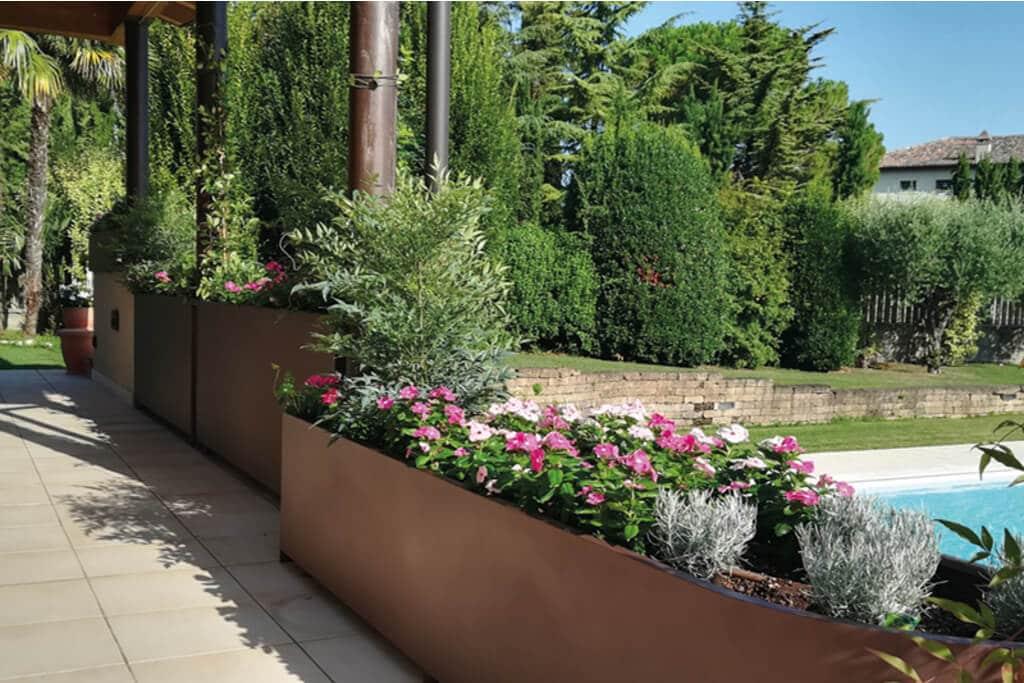 giardini pensili e tradizionali