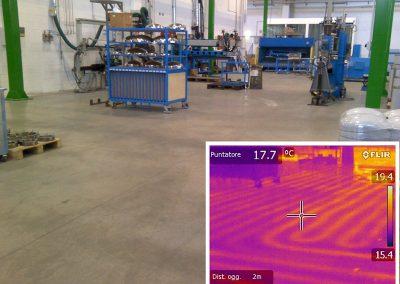 Mappatura impianto di riscaldamento a pavimento