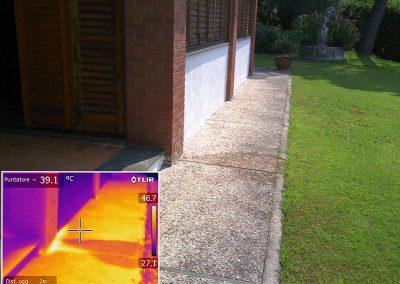 ricerca perdita da impianto di riscaldamento