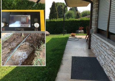 ricerca perdita impianto di irrigazione