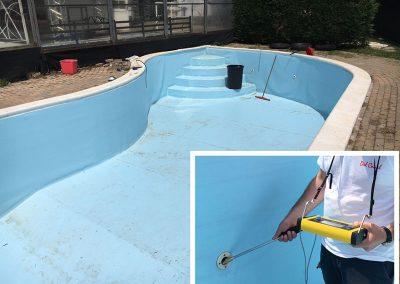 ricerca perdita piscina