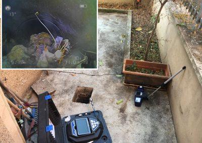 videoispezione scarico acque nere e localizzazione ostruzione